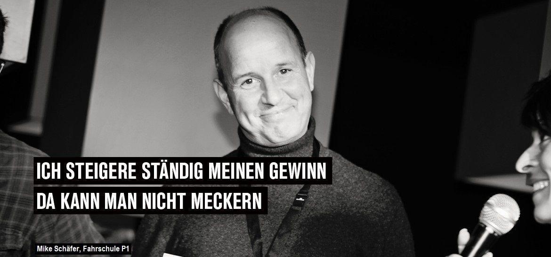 Mike Schäfer, Fahrschule P1