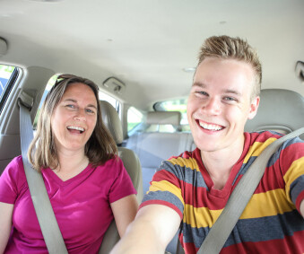 Begleitetes Fahren - der Führerschein mit 17