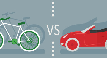 Fahrrad vs. Auto: Kollisionskurs oder Koexistenz?