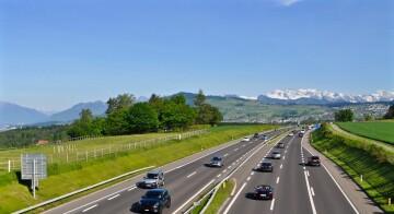 Autobahnfahrten/Motorradfahren im Herbst und Winter