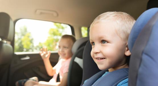 Sicherung von Kindern im Auto