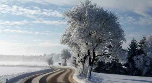 Führerschein bei Schnee und Eis