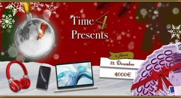 Time4Presents - Jetzt mitmachen und GEWINNEN !!!