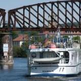 Dampferfahrt auf der Weser