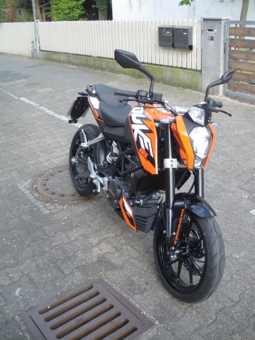 KTM Duke 125 ABS Klasse A1
