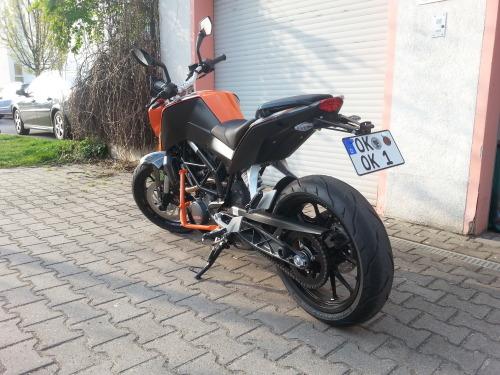 KTM Duke 125er mit ABS