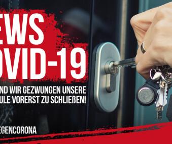 Information zur Schließung der Fahrschule wegen Corona