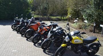 Klassenspezifischer Motorradunterricht