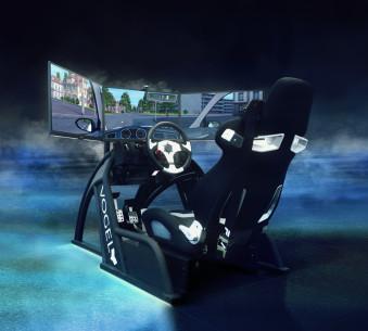 Unser neuer Fahrsimulator