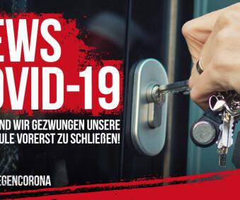 Information zur Schließung der Fahrschule.