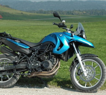 BMW F650 GS, 71 PS