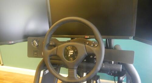 Neue Lernhilfe für unsere Schüler: Der Fahrsimulator