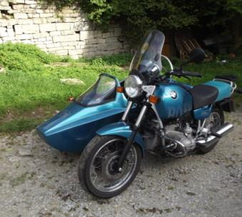 BMW R 100 R Gespann