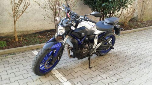 Yamaha MT 07 offen Leistung