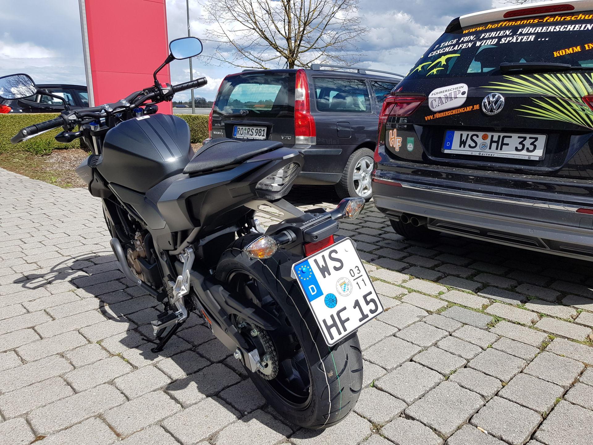 Honda CB 500 F / WS HF 15