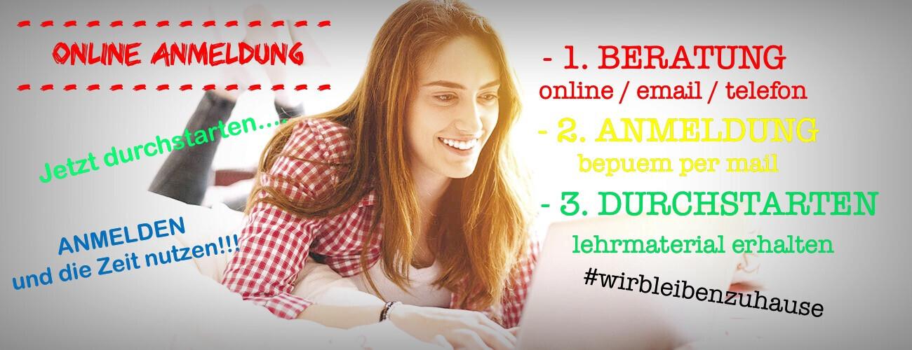 Onlineanmeldung