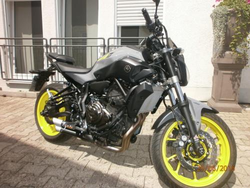 Klasse A2 / Yamaha MT 07