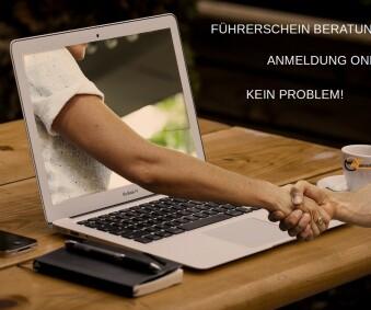 Beratung und Anmeldung bei uns online möglich
