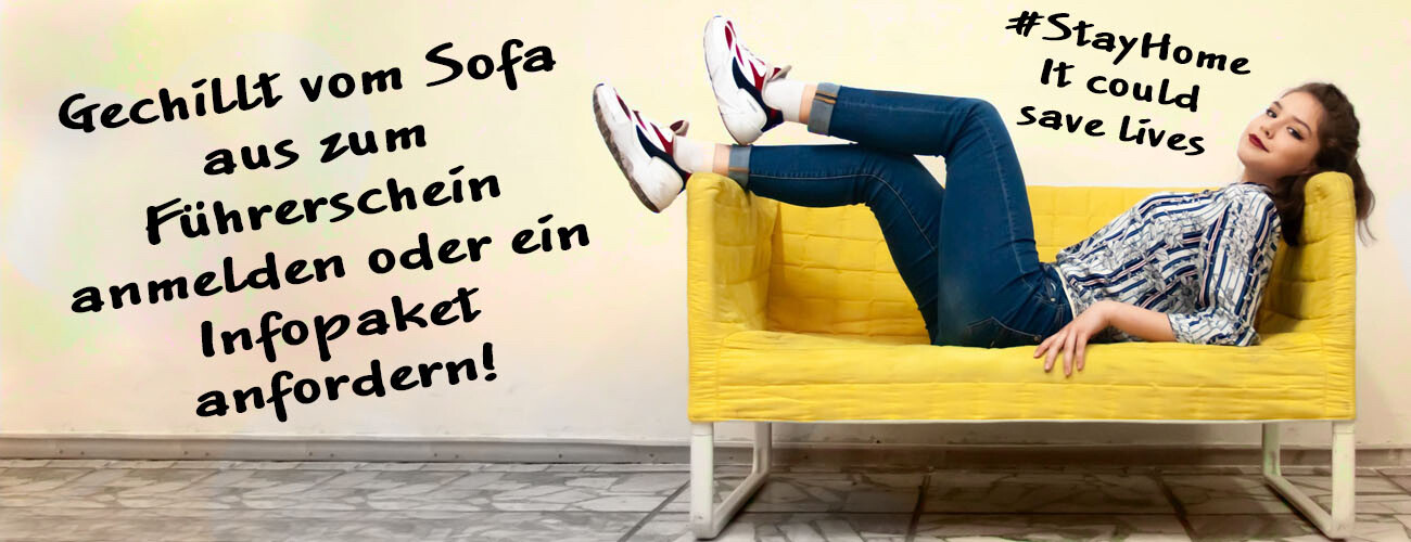 Anmeldung Sofa
