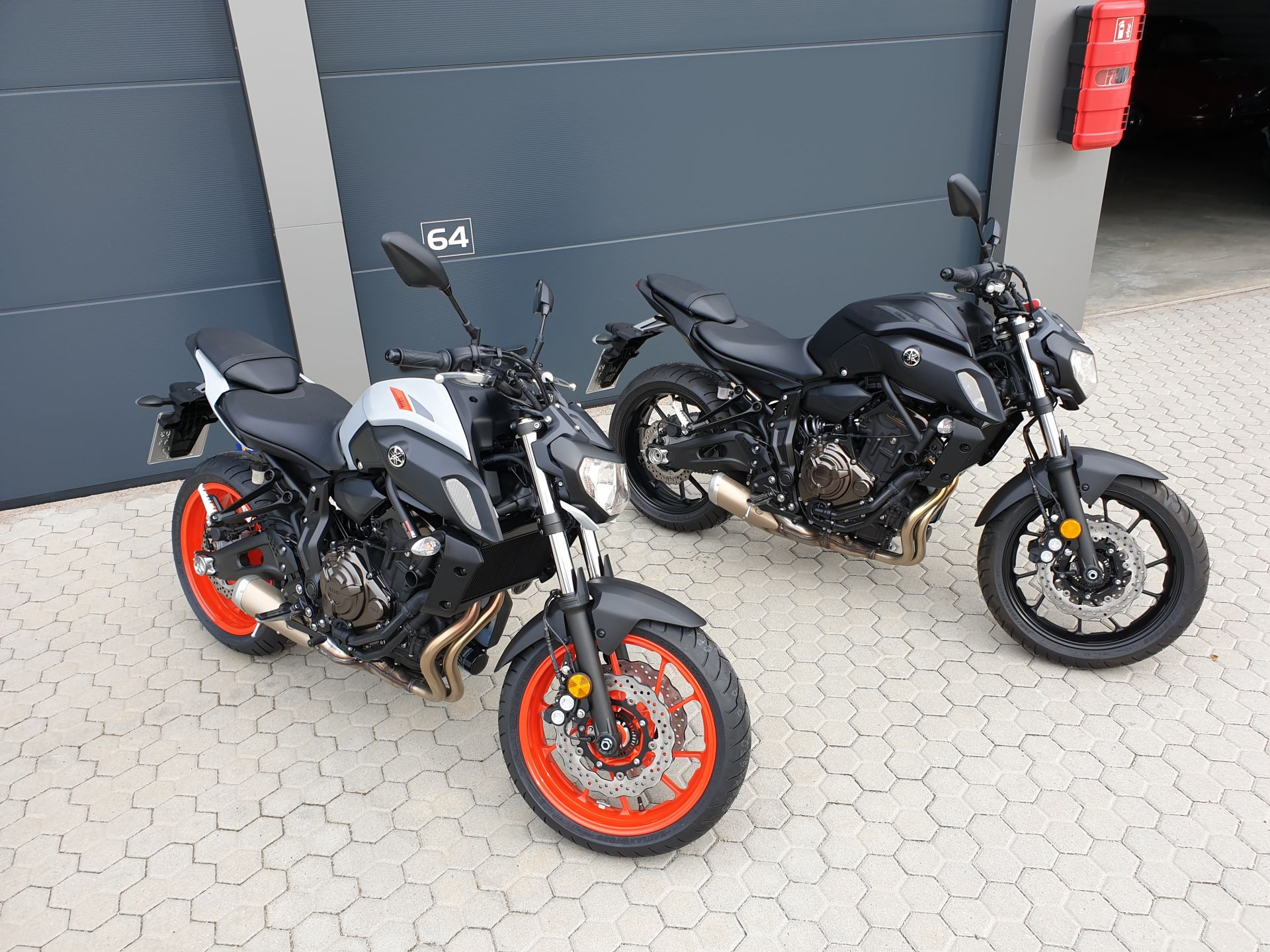 Yamaha MT07 Ice Fluo 48PS