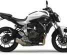 Yamaha MT07 weiß 48PS (tiefer)