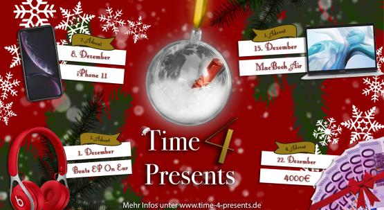 #time4presents - Unsere Adventsaktion