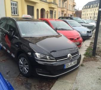 VW Golf 7 - schwarz
