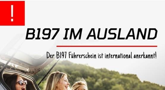 B197 Führerschein UPGRADE