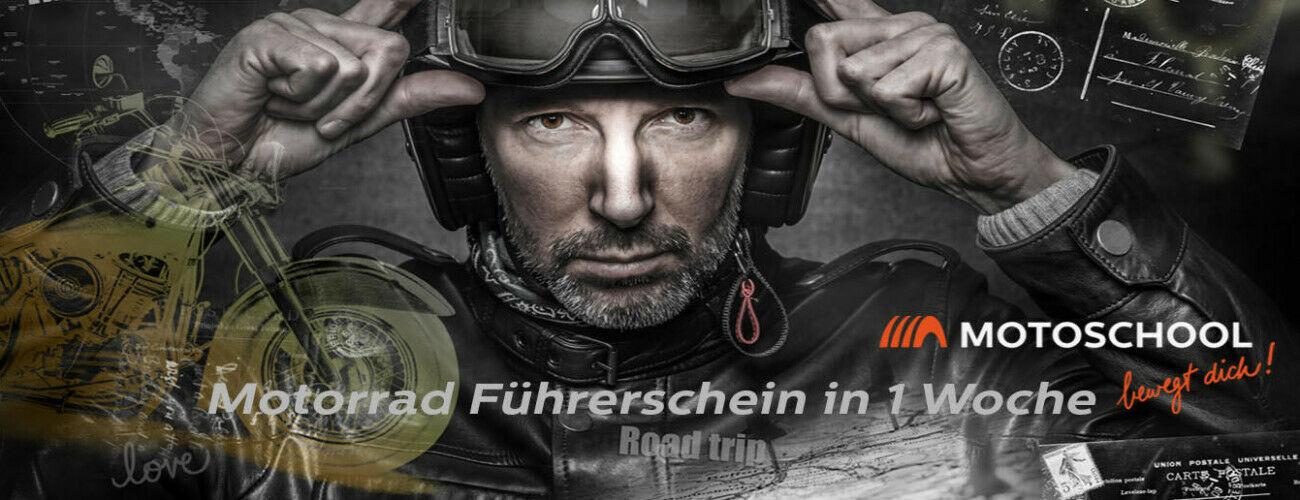 Motorrad Führerschein in 1 Woche