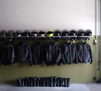 Schutzkleidung nur Zweiradklassen :-)