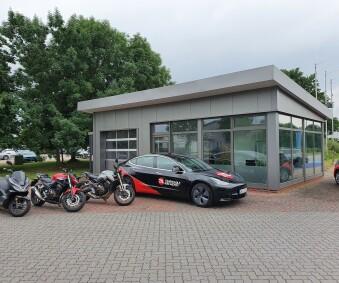 Neues Bildungszentrum für die Zweirad- und Anhängerausbildung