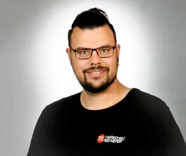 In Ausbildung: Andree Scharnhusen