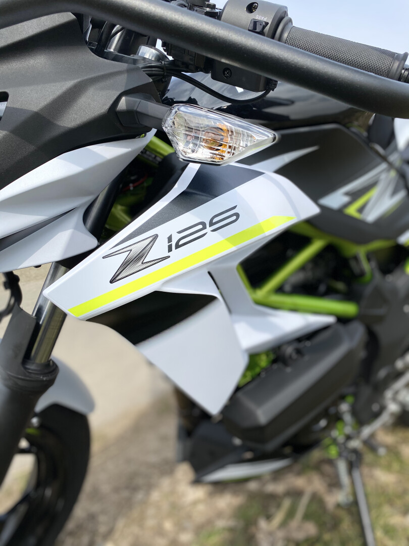 Kawasaki Z 125  ABS (Kl.A1 / B196)