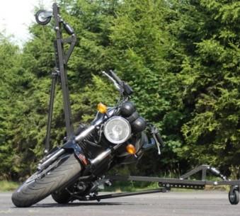 Schräglagentrainer Honda CBF 500 ABS