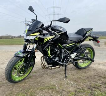 Kawasaki Z 650 48PS ABS (Kl. A2) Extra Niedrig!