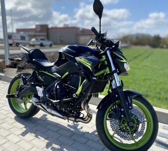 Kawasaki Z 650 offen ABS (Kl.A) Extra Niedrig!