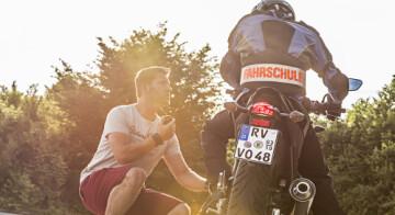 2 Rad fahren lernen vom Profi