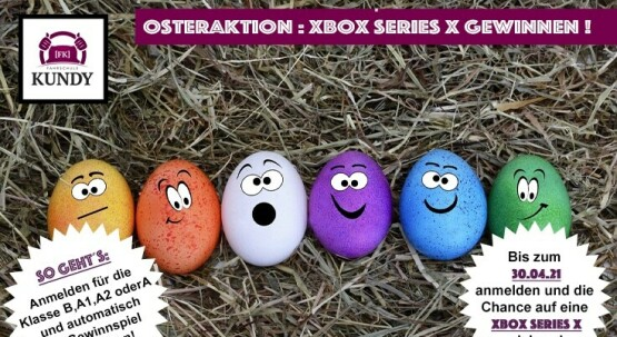 FROHE OSTERN! Xbox Series X zu gewinnen! Unser Osterkracher für Euch...