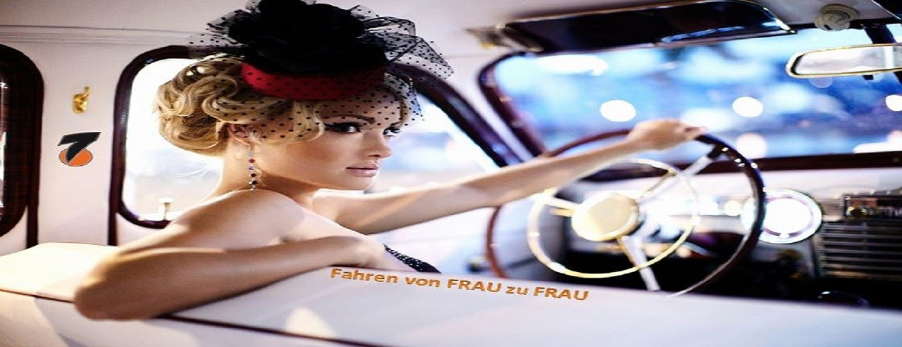 Fahren von Frau zu Frau