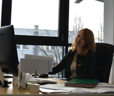Johanna Hansen - Kauffrau für Büromanagement