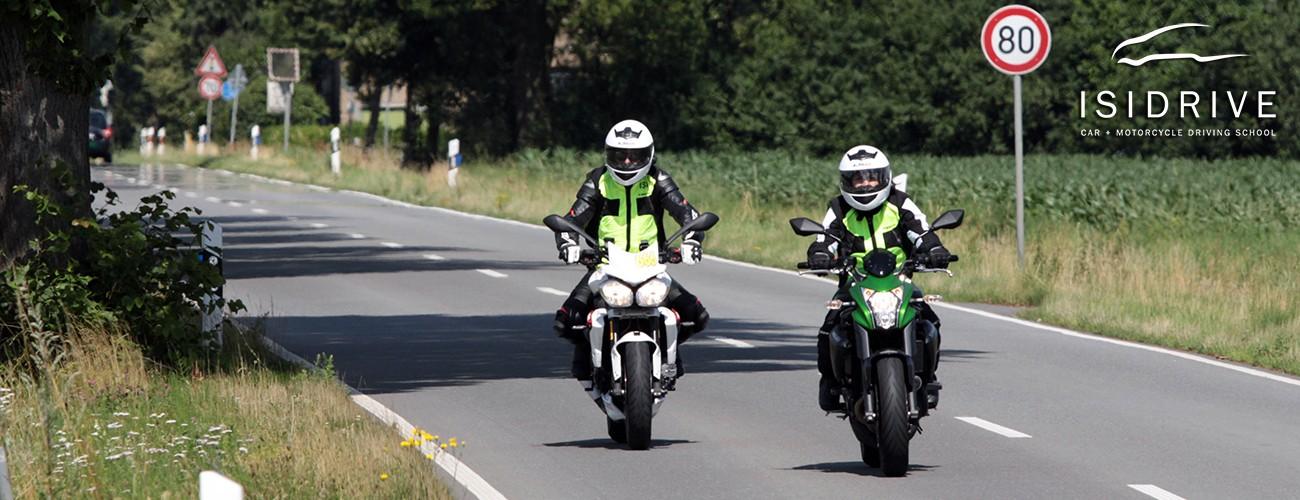 Ausbildung-Motorrad