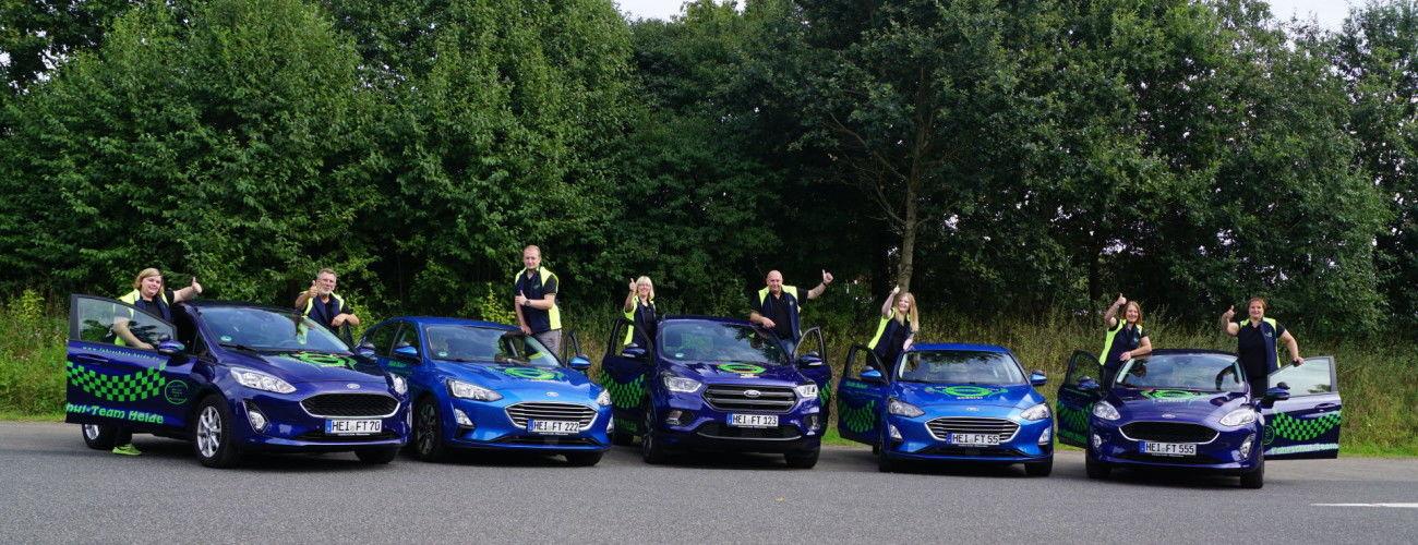Team & Fahrzeuge