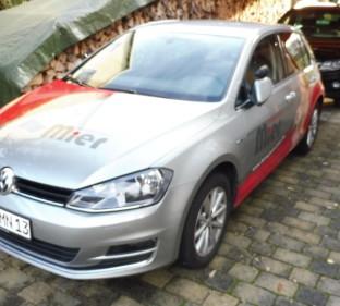 VW Golf 7 / grau