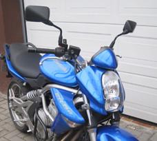 Kawasaki ER 6 offen