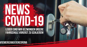 Lockdown 2: Allgemeine Informationen zur Schließung der Fahrschule