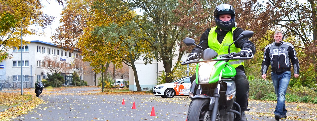 Motorrad-Ausbildung