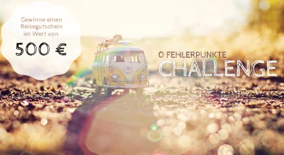 0 Fehlerpunkte Challenge