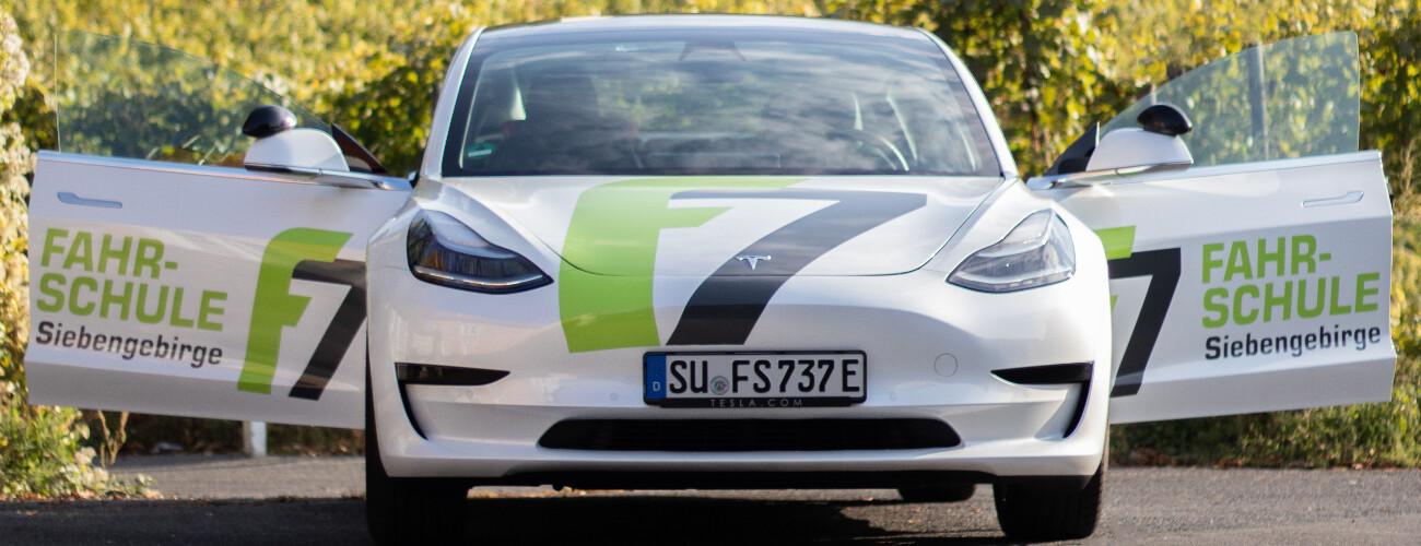 Tesla Front