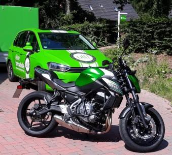Kawasaki Z650 (Klasse A und A2)