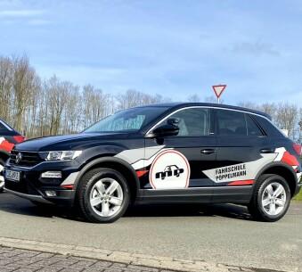 Schaltfahrzeug VW T-Roc